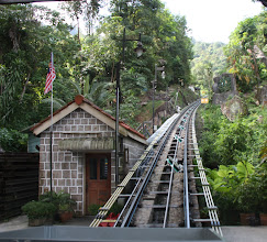 Photo: Year 2 Day 109 - The Beginning of Penang Hill Funicular