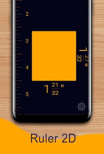 Prime Ruler – length measurement by camera, screen 2