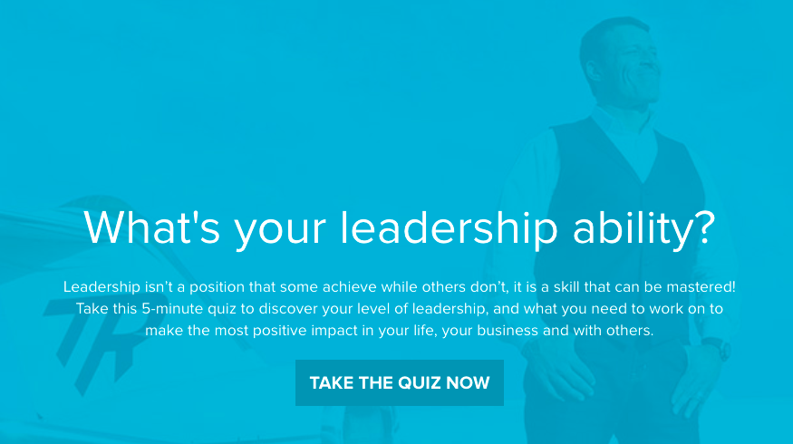 What's your leadership ability quiz cover