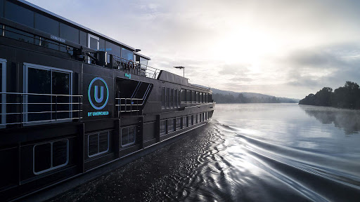 Sleek and modern, the river ships from U River Cruises targets today's connected young traveler.
