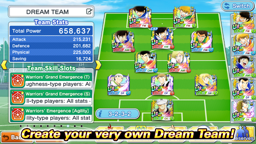 Captain Tsubasa: Dream Team apkpoly screenshots 5