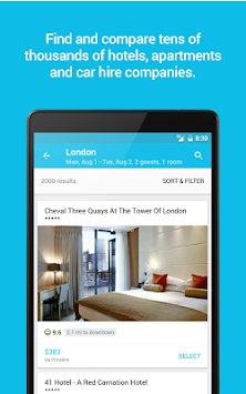 Skyscanner APK screenshot thumbnail 15