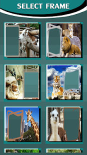 Zoo Animals Photo Frames - náhled
