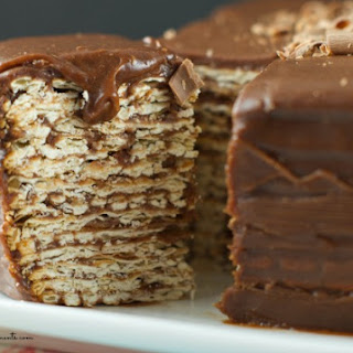 Icebox Matzo Cake