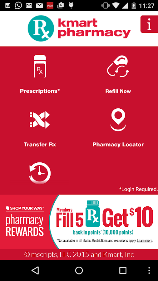 Kmart Pharmacy- screenshot