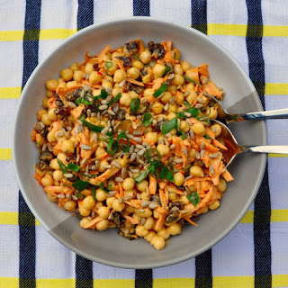 Moroccan Inspired Chickpea Salad