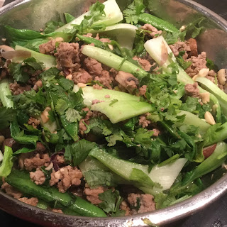 Chinese Mince Pork with Vegetables Recipe