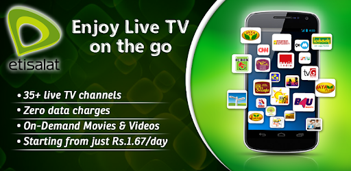 Etisalat Live Mobile TV on Windows PC Download Free - 4