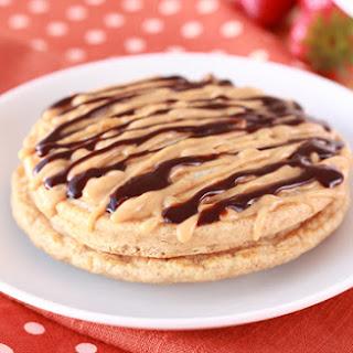 HG's Gooey PB Chocolate Pancakes