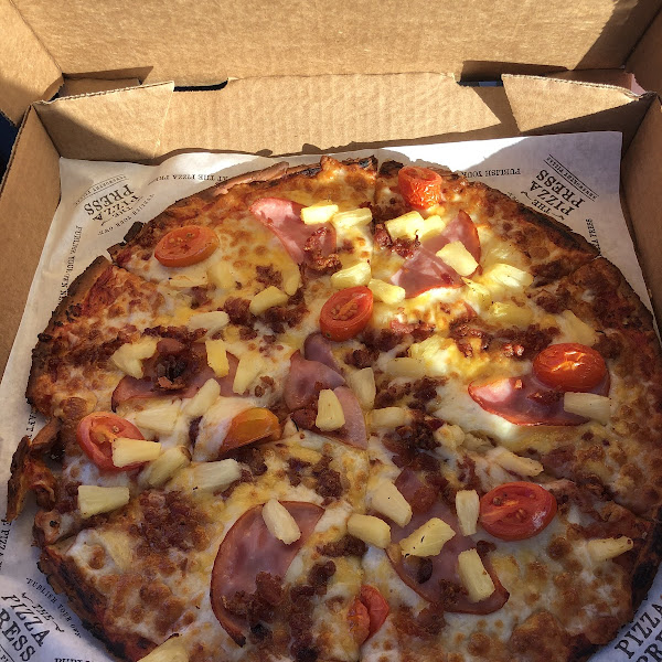 Gluten-Free Pizza at The Pizza Press