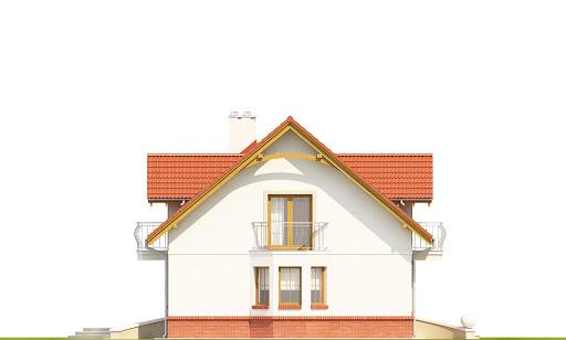 Dom Dla Ciebie 1 w2 bez garażu B - Elewacja lewa