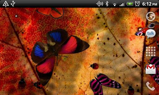 Friendly Bugs Live Wallpaper screenshot 3