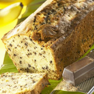 Banana and Chocolate Loaf Cake