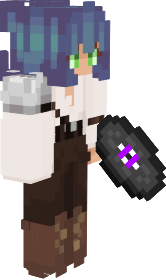 Character in a roleplay smp on discord