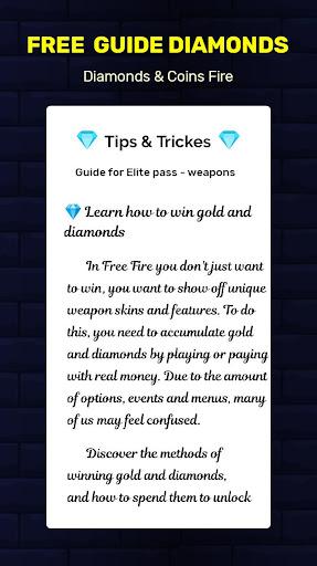 Guide and Free Diamonds for Free screenshot 3