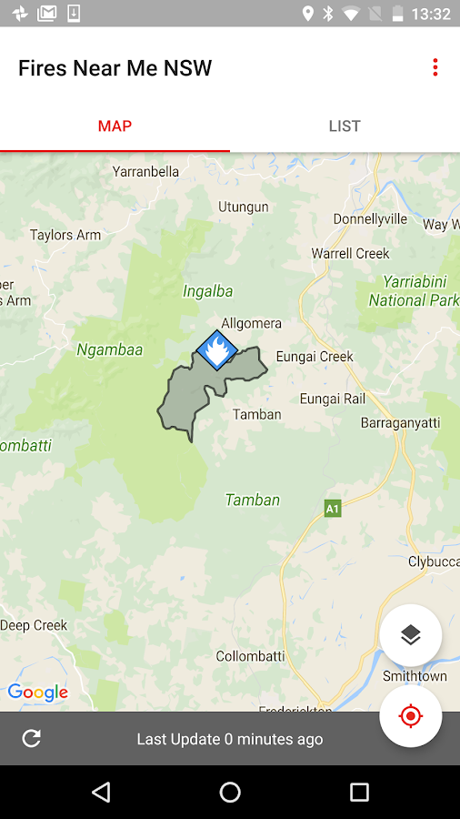 Fires Near Me NSW - Android Apps on Google Play