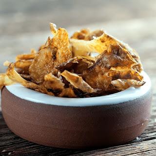 Potato Peel Chips.