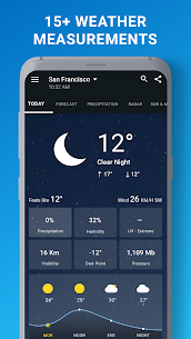 1Weather Forecasts, Widgets, Snow Alerts & Radar Pro 4.6.0.0 3