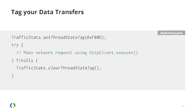 Photo: If you're using a HttpClient, tagging the thread will automatically tag the associated socket.