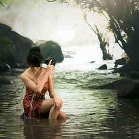Rural women is bathing at waterfall . by Visoot Uthairam - Uncategorized All Uncategorized ( indonesian, laos, sex, nude, thailand, thai, rustic, people, asian, xxx, bathing, life, village, poverty, woman, indonesia, teenager, lifestyle, asia, smile, rocks, peasant, water, poor, traditional, malaysia, happiness, vietnam, rural, myanmar, outdoor, local, natural, world, simplified, culture )