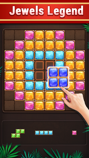 Block Puzzle: Jewels Jungle Gems Quest🥰 Screenshot