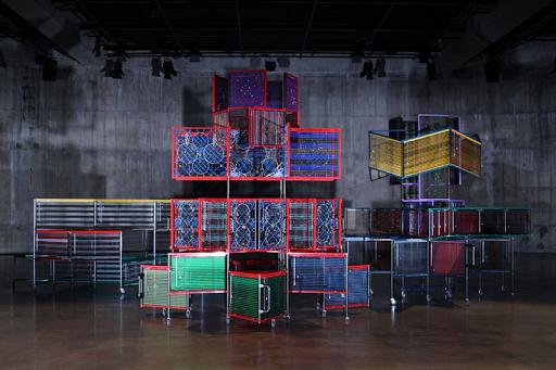 Colorful Art by Haegue Yang Displayed at La Triennale di Milano