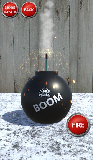 Firecrackers, Bombs and Explosions Simulator  captures d'écran 2
