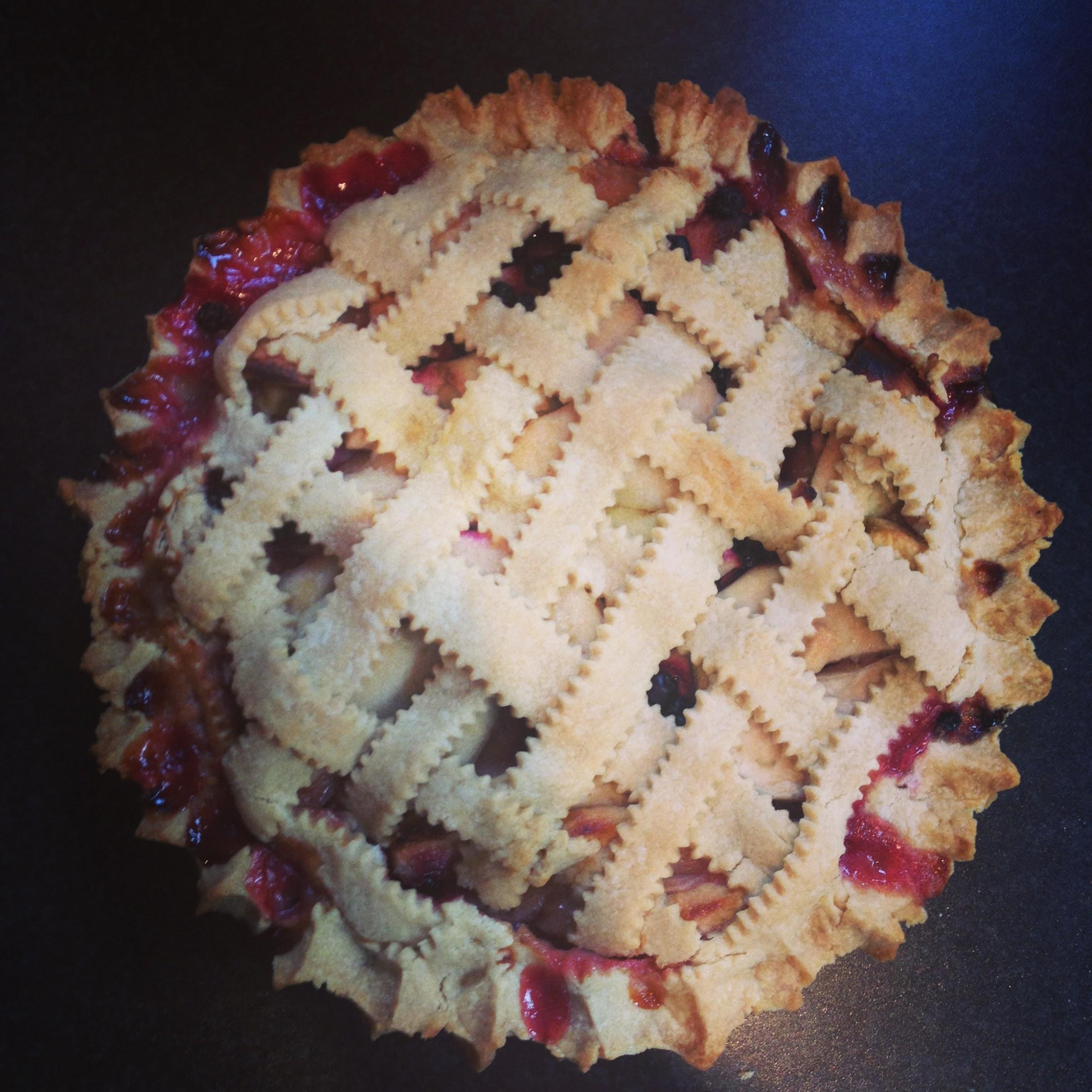 James Beard's large shortcrust pie pastry