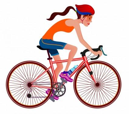 Parcours en bicyclette