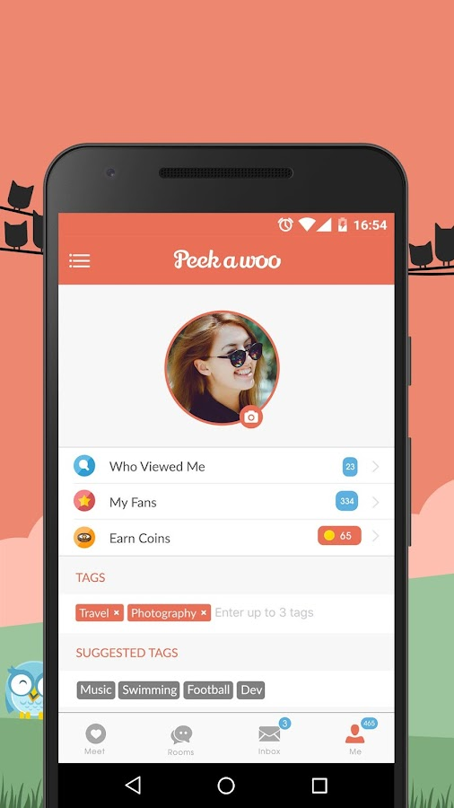 Peekawoo - Meet Friends Nearby- screenshot