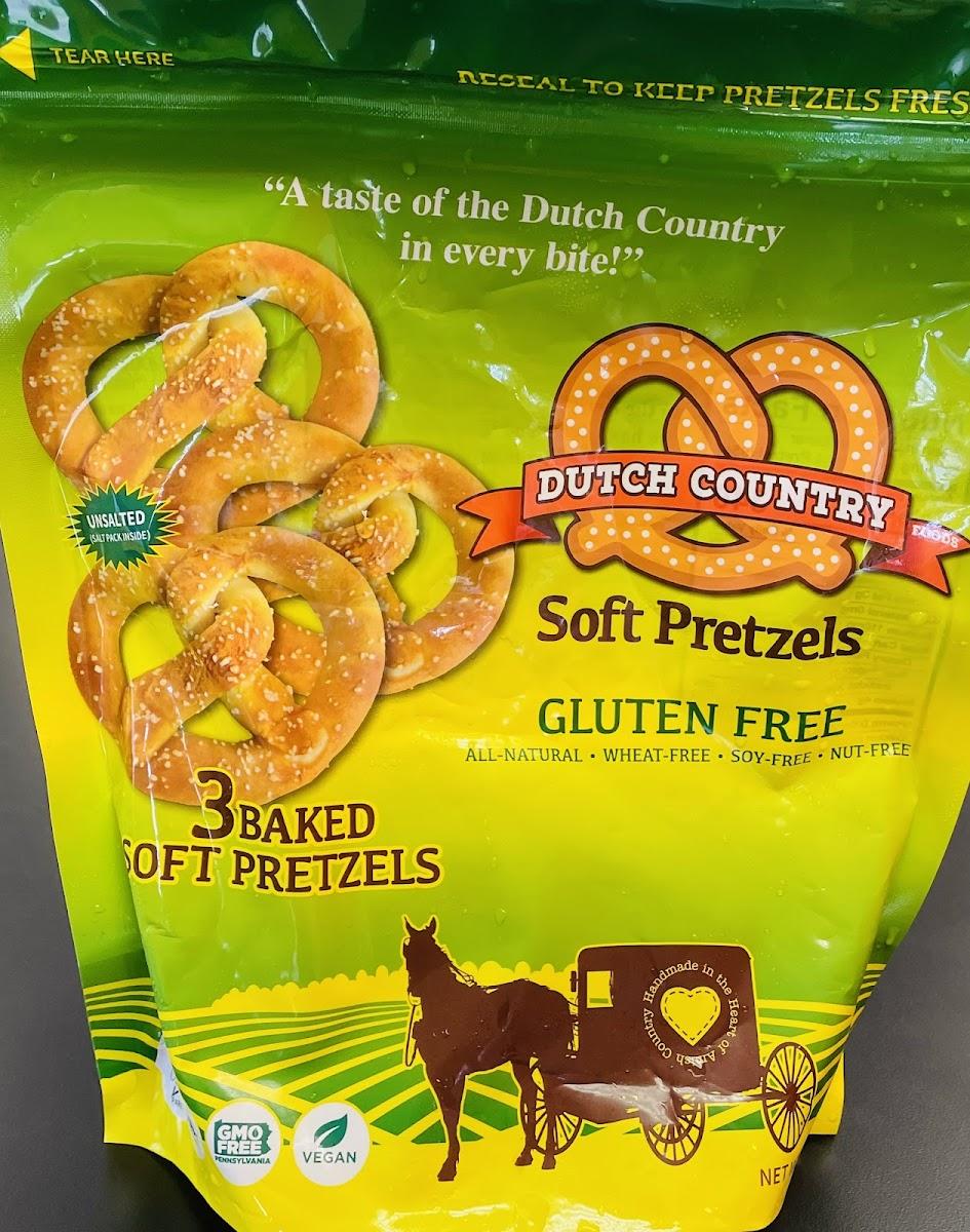 Soft Pretzel Gluten Free