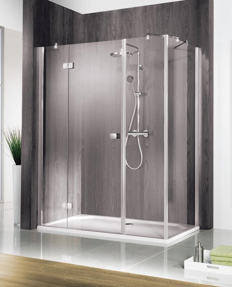masterclass porte de douche pivotante paroi laterale 150 x 75 cm grand large transparent