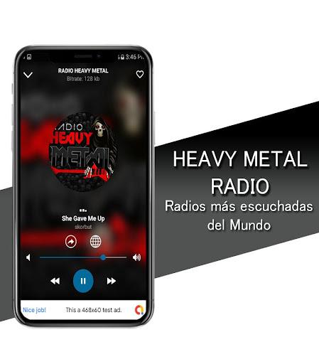 Heavy Metal Radio - Heavy Metal and Rock Radio screenshots 2