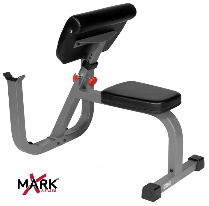 Buy the XMark XM-4436 Seated Preacher Curl