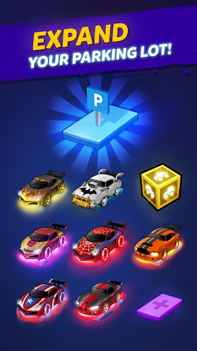 Merge Neon Car: Car Merger 1.0.97 screenshots 6