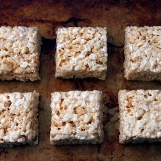 Salted Brown Butter Rice Crispy Treats.
