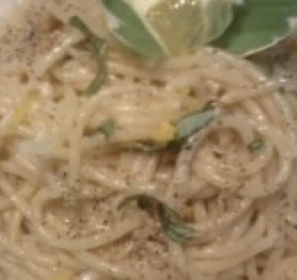Lemon Basil Spaghetti Recipe