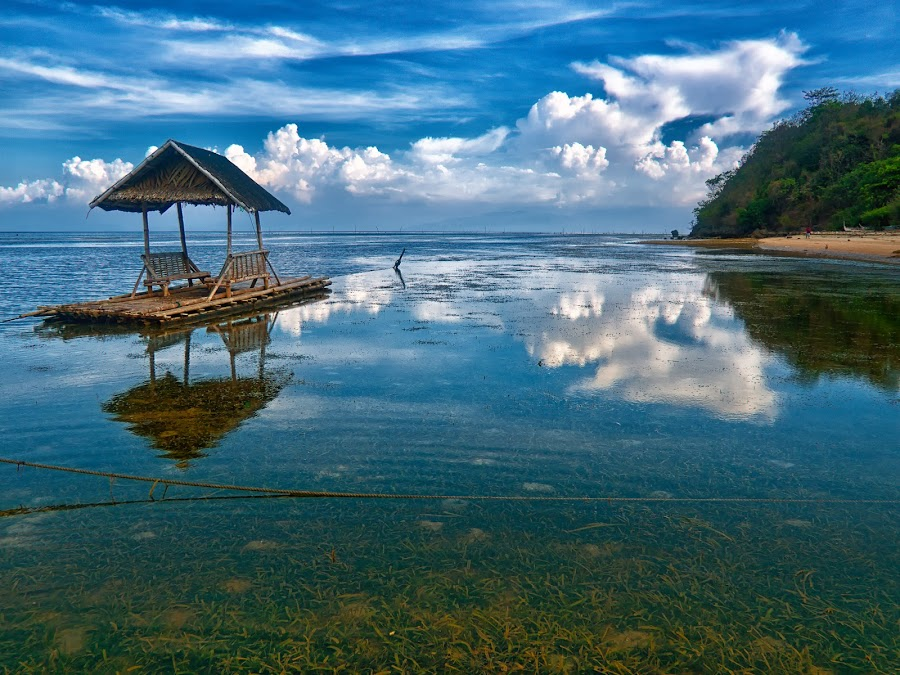 Reflections by Artgie Lopez - Novices Only Landscapes ( calatagan, jeek! photography, batangas )