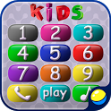 Kids game: baby phone icon