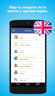 Pivel App - Aprender Ingles sin internet Pro for PC-Windows 7,8,10 and Mac apk screenshot 2