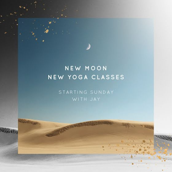 New Moon Yoga - Instagram Post Template