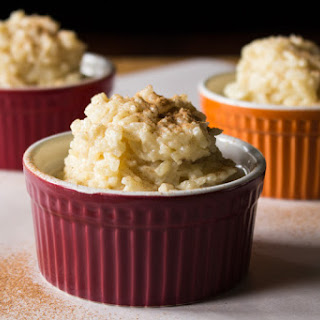 Eggnog Rice Pudding.