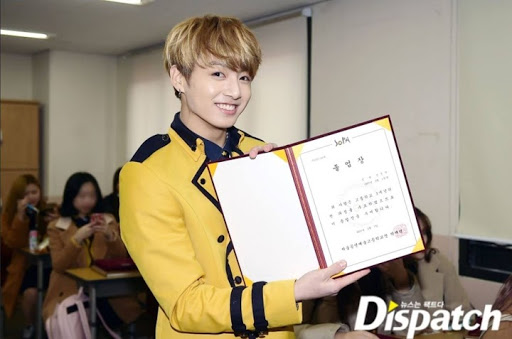 BTS Jungkook Graduated From Rowland Heights