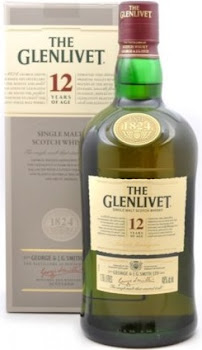 The Glenlivet 12 Year Single Malt Scotch Whisky - 1.75l