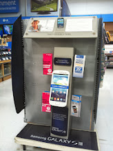 Photo: That is a sweet new phone.  I was impressed to see that Walmart has the latest phones for sale and they can be used on the Family Plan. So many great options!
