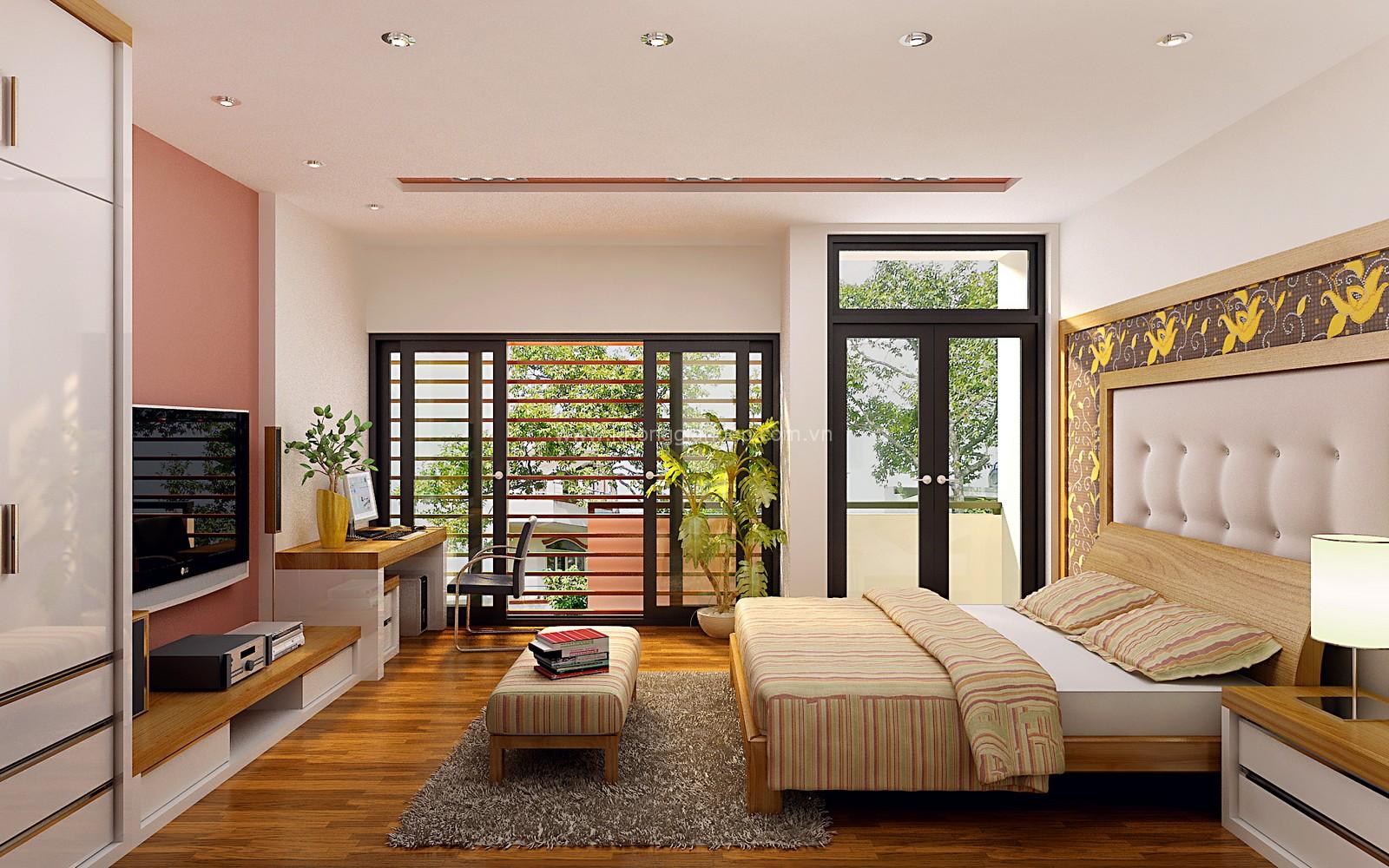 Phòng ngủ không nên có nhiều cửa sổ