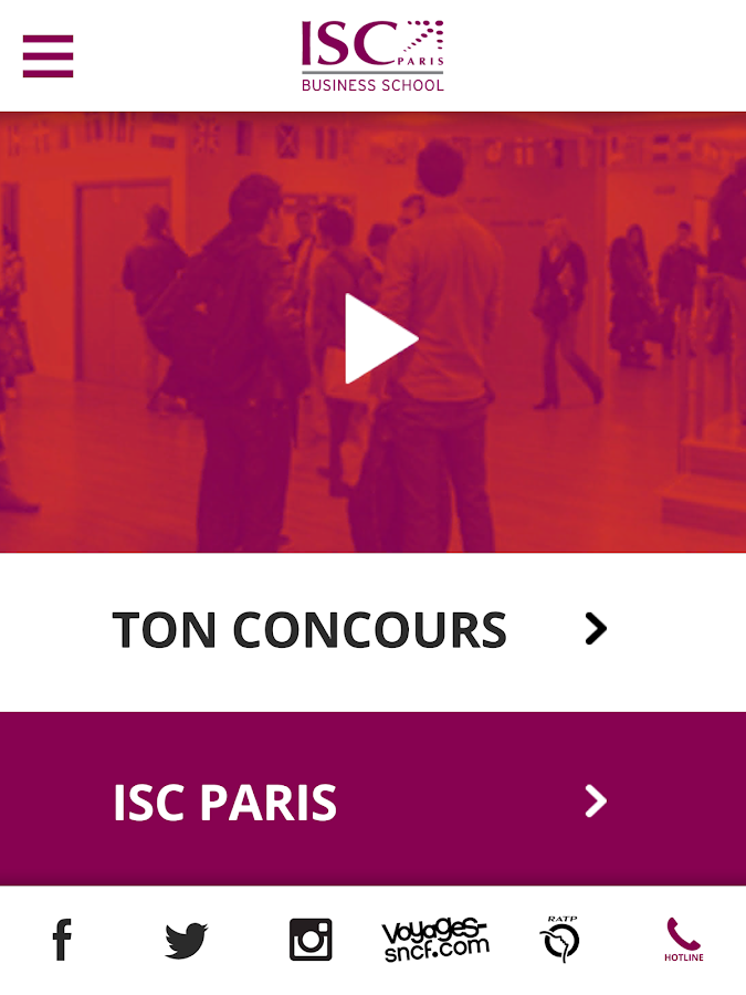 ISC Paris- screenshot
