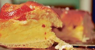 Imagen de archivo de un roscón de Reyes.