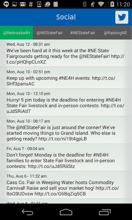 4-H at Nebraska State Fair- screenshot