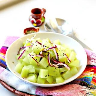 Chayote Salad.